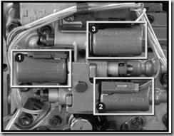 solenoid AW55 AF33